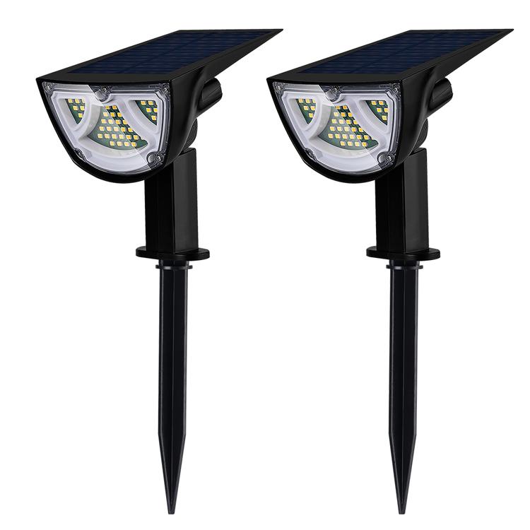 LED Solar Spotlight led Solar powered garden light