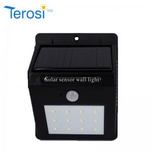 0.6(W) Solar wall light from Terosi