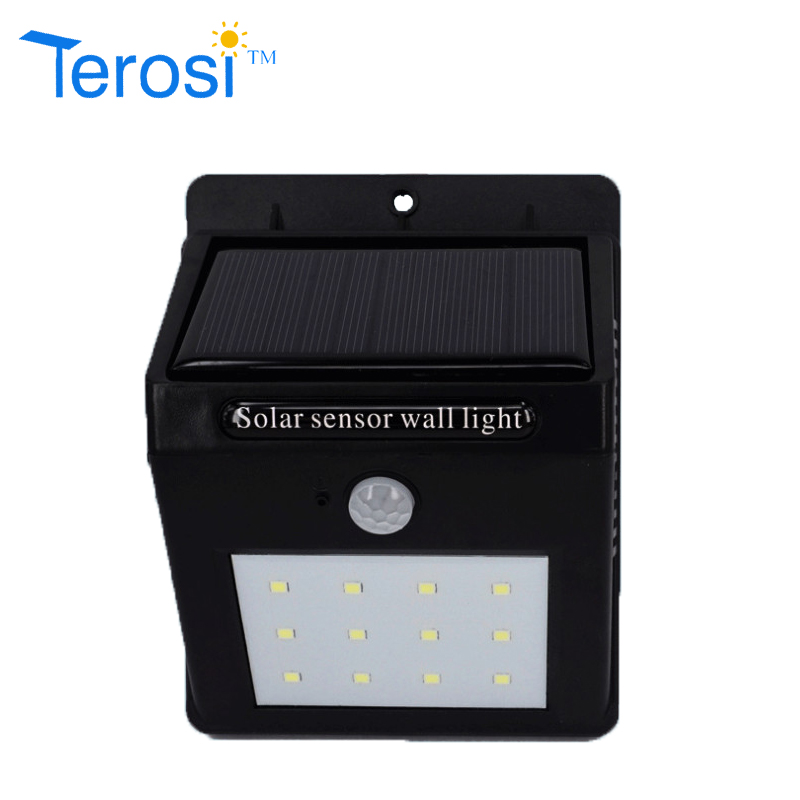 0.6(W) Solar wall light from Terosi