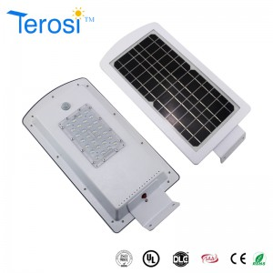 Motion sensor led security light integrated  led solar street light