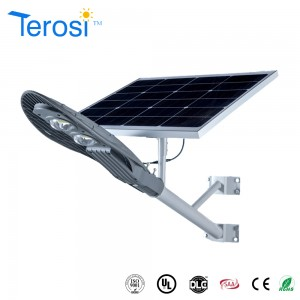 Banana Type Integrated solar street light 25W lamp CE UL