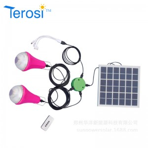 LED Bulb-Solar Light For Two Bulb