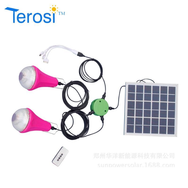 LED Bulb-Solar Light For Two Bulb