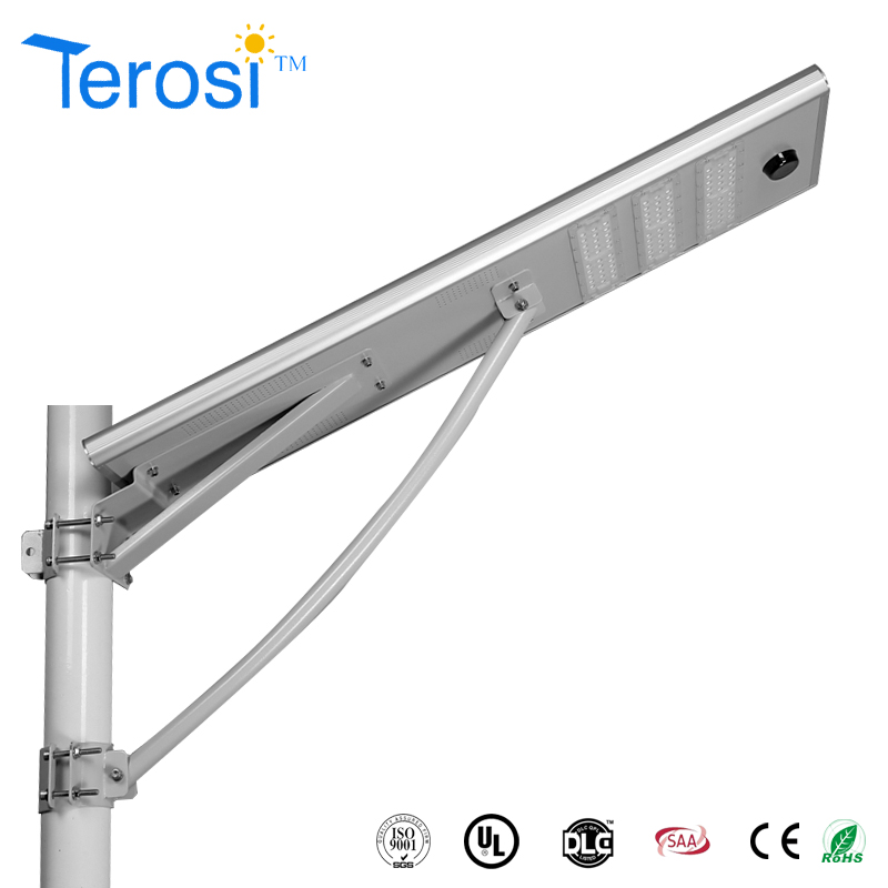 2017 low price solar street light/integrated solar led street light